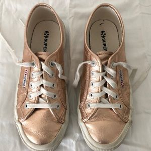 Superga Rose Gold Cotu 2750 Sneakers